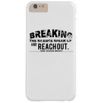 Breaking The Silence Suicide Prevention Awareness Barely There iPhone 6 Plus Case