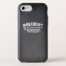 Breaking The Silence Suicide Prevention Awareness Speck iPhone Case