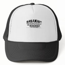 Breaking The Silence Suicide Prevention Awareness Trucker Hat