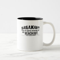Breaking The Silence Suicide Prevention Awareness Two-Tone Coffee Mug
