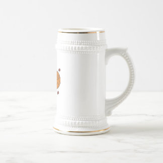 breaking through bricks basketball beer stein