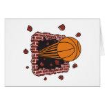 breaking through bricks basketball card