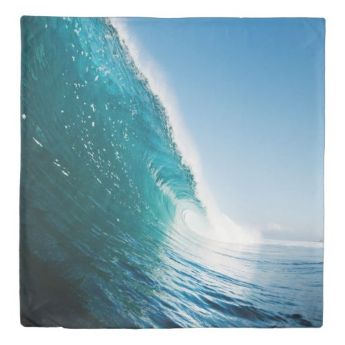 Breaking Wave (1 side) Queen Duvet Cover