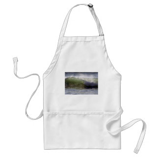 Breaking wave adult apron