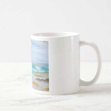Breaking Wave by KatGibsonArt - love the beach! Coffee Mug