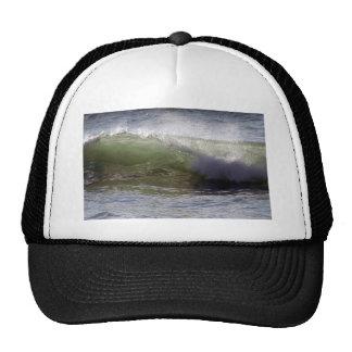 Breaking wave mesh hats