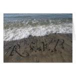 Breaking Wave RSVP Greeting Card