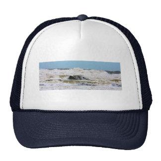 Breaking waves. mesh hat