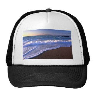 Breaking waves, Hudson Bay, Canada Mesh Hats