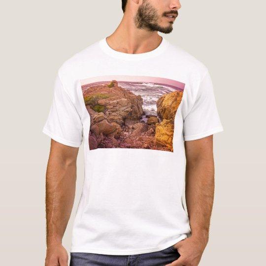 Breaking Waves Sunset T-Shirt