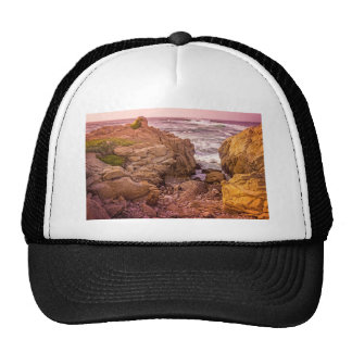Breaking Waves Sunset Trucker Hat