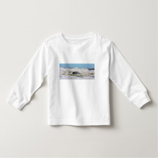 Breaking waves. toddler t-shirt