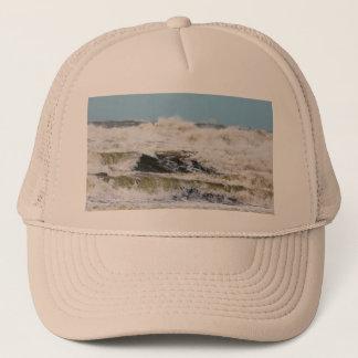 Breaking waves. trucker hat