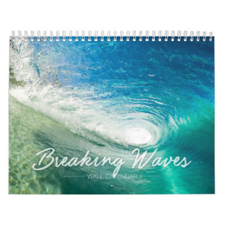 Breaking Waves Wall Calendar