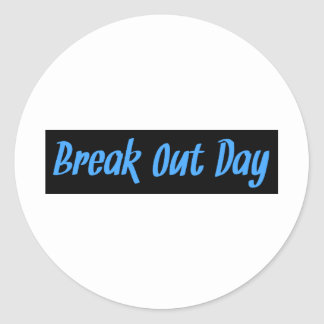 Breakoutday png sticker