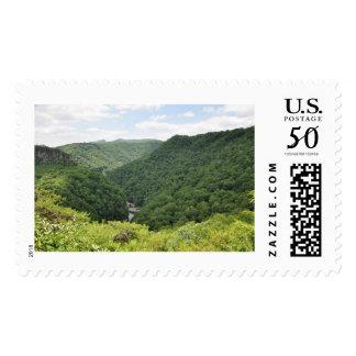 Breaks Interstate Park Overlook Stamp
