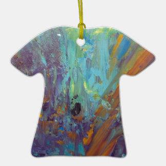 Breakthrough Ceramic T-Shirt Ornament