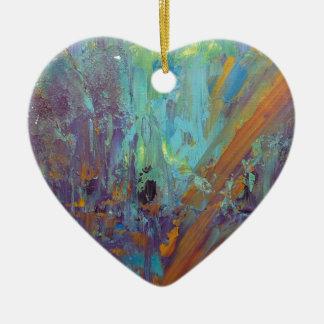 Breakthrough Ceramic Heart Ornament