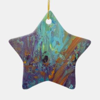 Breakthrough Ceramic Star Ornament