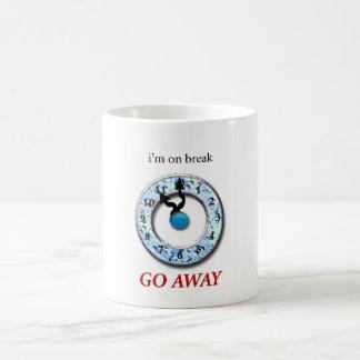 breaktime classic white coffee mug