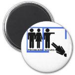 Breakup and Divorce Designs Fridge Magnet