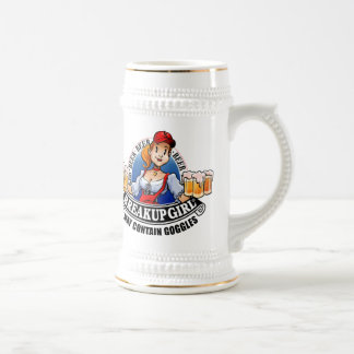 Breakup Girl Beer Stein (*May Contain Goggles)