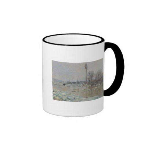 Breakup of Ice, 1880 Coffee Mug