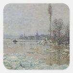 Breakup of Ice, 1880 Sticker