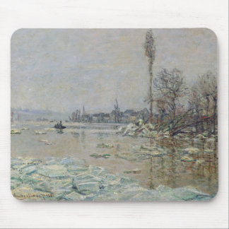 Breakup of Ice - Claude Monet Mouse Pad