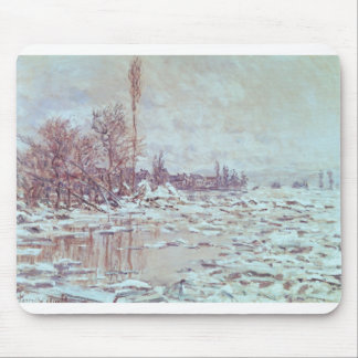 Breakup of Ice, Grey Weather (1880) Mouse Pad