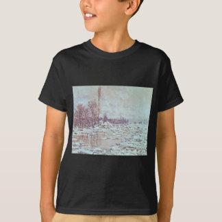 Breakup of Ice, Grey Weather (1880) T-Shirt