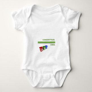 Breakup Recycling Slogan Baby Bodysuit