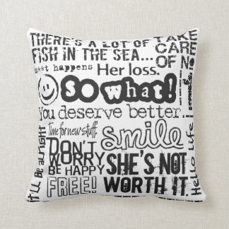 Breakup With a Girl American MoJo Pillow 2