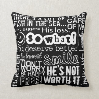 Breakup With a Guy American MoJo Pillow