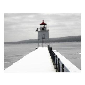 Breakwall Lighthouse Flyer Design