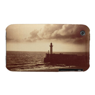 Breakwater at Sete, c.1855 (albumen print from a c iPhone 3 Case