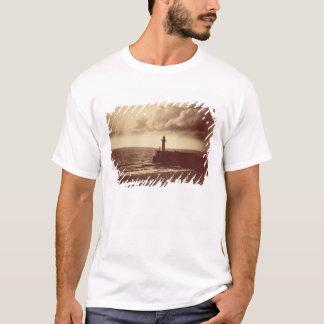 Breakwater at Sete, c.1855 (albumen print from a c T-Shirt