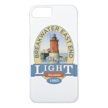 Beach Themed Breakwater East End Lighthouse iPhone 7 Case