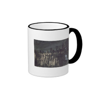 Breakwater in Jersey Ringer Mug