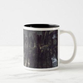 Breakwater in Jersey Two-Tone Coffee Mug