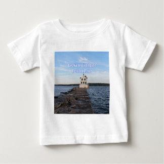 Breakwater Lighthouse Baby T-Shirt