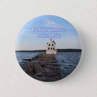 Breakwater Lighthouse Button