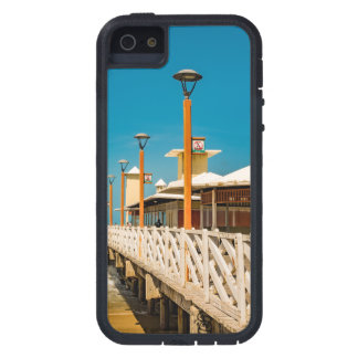 Breakwater Walkway at Fortaleza Beach iPhone SE/5/5s Case