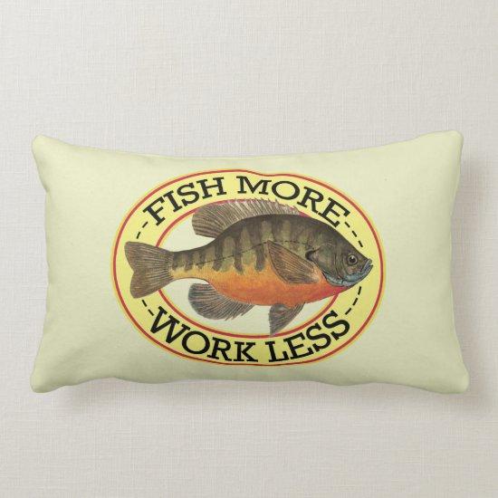 Bream, Bluegill Fishing Lumbar Pillow