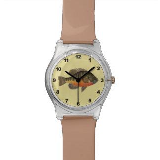 Bream, Bluegill Fishing Wrist Watches