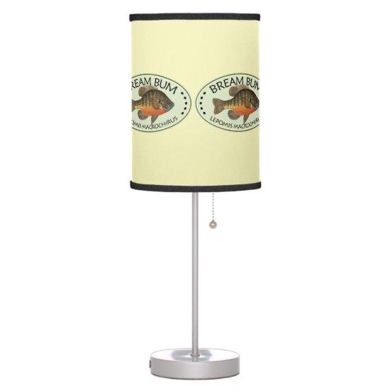 Bream, Bluegill Table Lamp