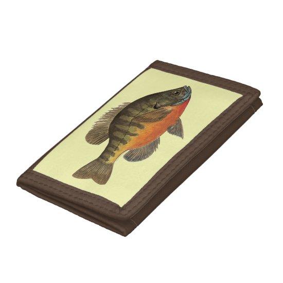 Bream, Bluegill Tri-fold Wallet