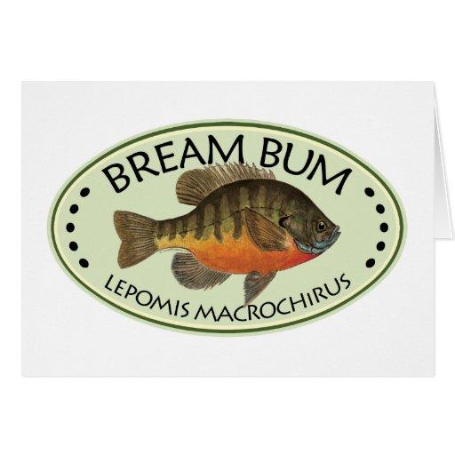 Bream Bum Fishing Card