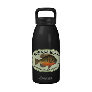 Bream Bum Fishing Water Bottles