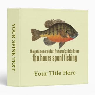 Bream Fishing Binder